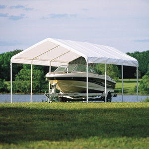 ShelterLogic 12 ft. x 20 ft. White Canopy Replacement ...