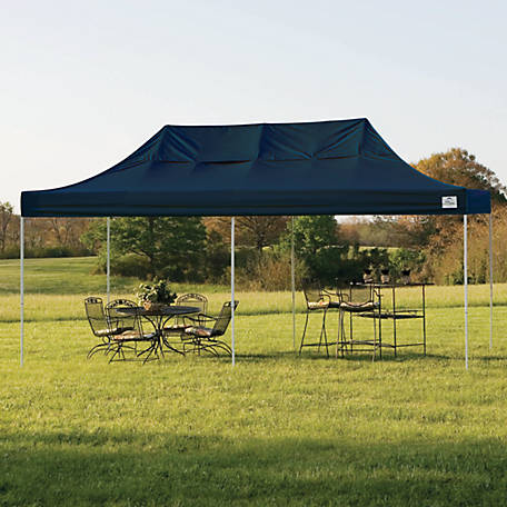 new styles a9e0d acfa5 ShelterLogic 10 ft. x 20 ft. Pro Pop Up Canopy, Straight Leg at Tractor  Supply Co.