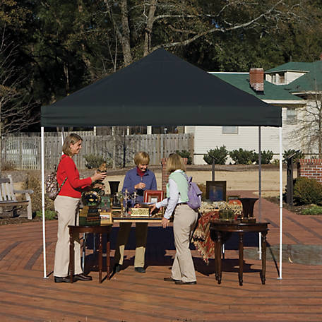ShelterLogic 10 ft. x 10 ft. Pro Pop Up Canopy, Straight Leg
