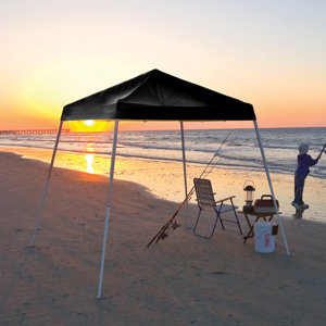 Prod Image & ShelterLogic 8 ft. x 8 ft. Sport Pop Up Canopy Slant Leg at ...