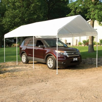 ShelterLogic Max AP 10 ft. x 20 ft. White All Purpose Canopy at Tractor Supply Co. & ShelterLogic Max AP 10 ft. x 20 ft. White All Purpose Canopy at ...