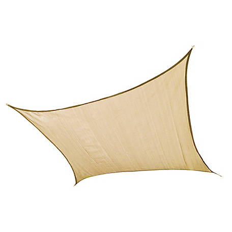 ShelterLogic ShadeLogic Sun Shade Sail, Square