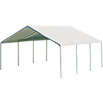 ShelterLogic Super Max 18 ft. x 20 ft. White Premium Canopy