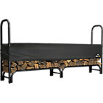 ShelterLogic Firewood Rack-in-a-Box Heavy Duty Rack with Cover, 8 ft.