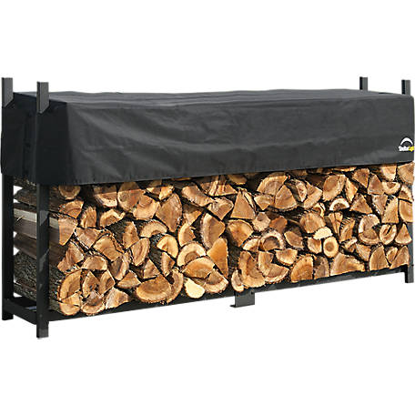 ShelterLogic Firewood Rack-in-a-Box Ultra Duty Rack, 8 ft.