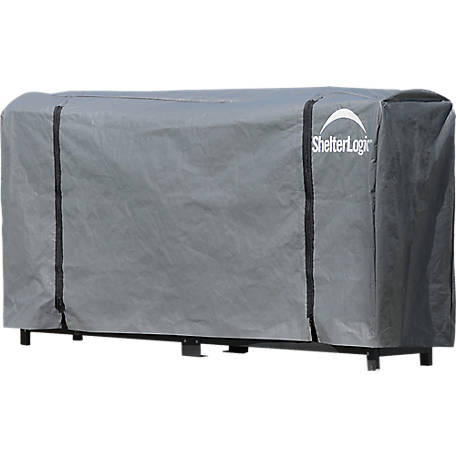 ShelterLogic Firewood Rack-in-a-Box Ultra Duty Rack, 12 ft.