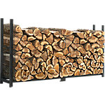 ShelterLogic Firewood Rack-in-a-Box Ultra Duty Rack with Cover, 8 ft.