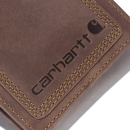 Carhartt Men's Pebble Passcase Wallet