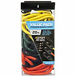 SmartStraps 20-Piece Standard Bungee Value Pack