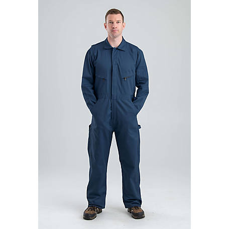Berne Men's Cotton Deluxe Unlined Long Sleeve Coverall