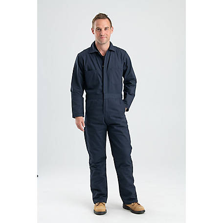 Berne Men's Twill Standard Unlined Long Sleeve Coverall