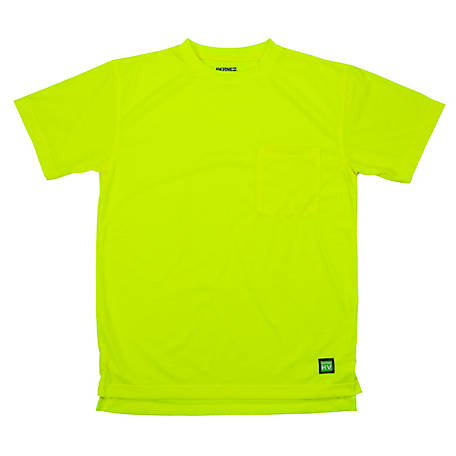 Berne Enhanced Visibility Short Sleeve Pocket T-Shirt