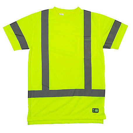 Berne Class 3 Hi-Vis Short Sleeve Pocket T-Shirt