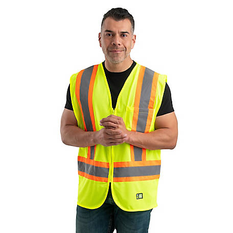 Berne Class 2 Hi-Visibility Multi-Color Safety Vest