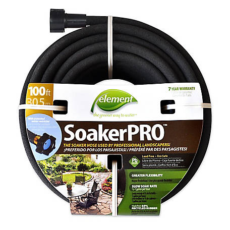 GroundWork SoakerPRO Hose 3/8 in. x 100 ft., TSCELSP38100
