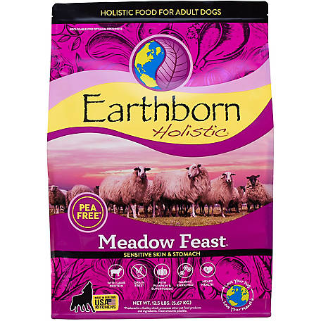 Earthborn Holistic Meadow Feast Grain-Free Dry Dog Food, 14 lb.