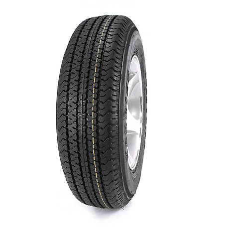Kenda Loadstar Karrier Radial Trailer Tire, 205/75R-14 LRC