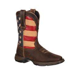 Shop Durango Women's Lady Rebel 10 in. Pull-On Flag Boot at Tractor Supply Co.