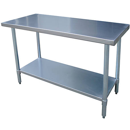 Sportsman Series Stainless Steel Work Table, 48 in. W x 24 in. L