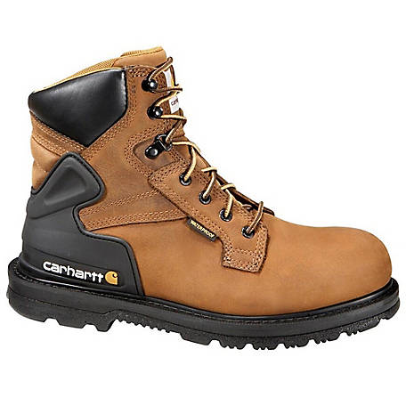 Carhartt Men's 6 in. Steel Toe Waterproof Work Boot
