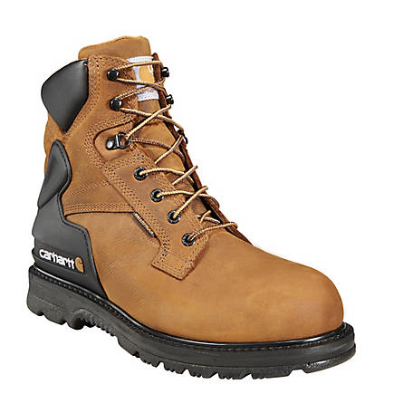 Carhartt Men's 6 in. Bison Waterproof Work Boot