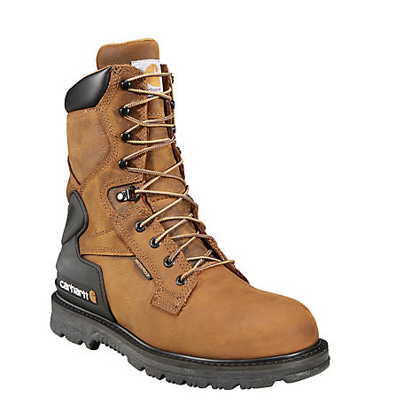 Carhartt Men's 8 in. Bison Waterproof Work Boot