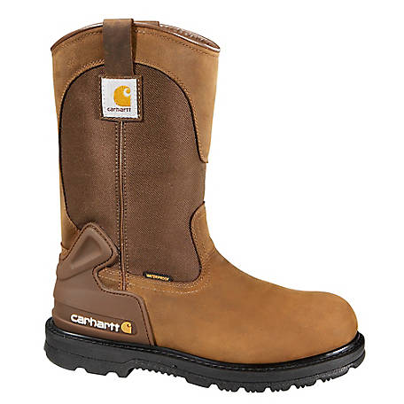 Carhartt Men's 11 in. Waterproof Steel Toe Wellington Boot