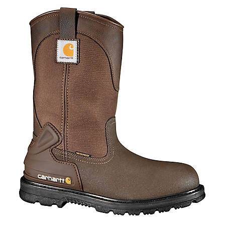 Carhartt Men's 11 in. Bison Waterproof Wellington Steel Toe Boot