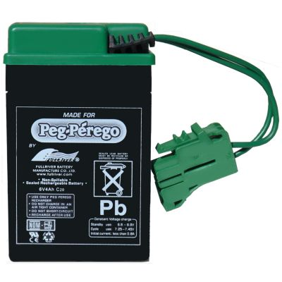 Buy Peg Perego 6 Volt Rechargeable Battery Online