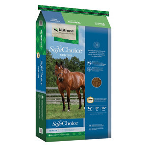 nutrena safechoice senior horse feed, 50 lb. at tractor supply co.