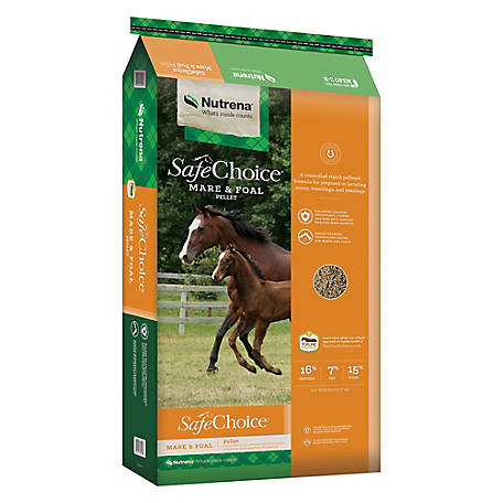 Nutrena SafeChoice Mare & Foal Feed, 50 lb. at Tractor Supply Co.