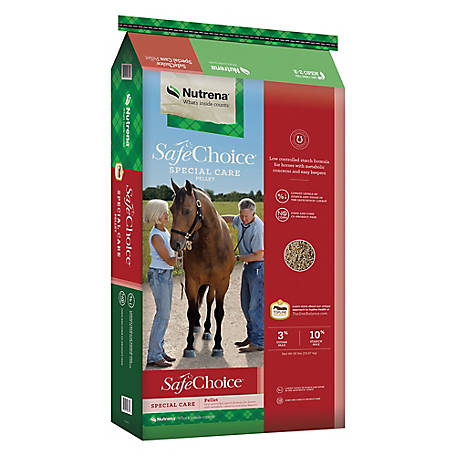 Nutrena SafeChoice Special Care Horse Feed, 50 lb.