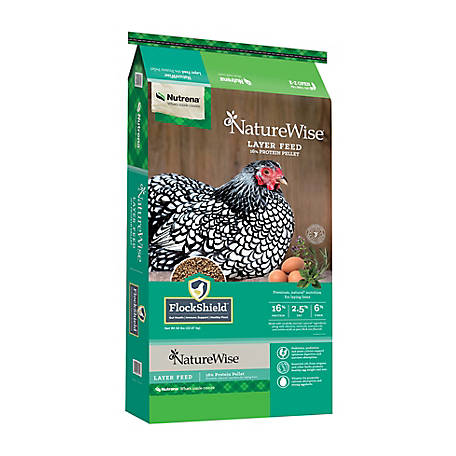 Nutrena NatureWise Layer 16% Pellets, 50 lb., 91587