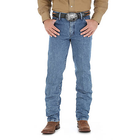 Wrangler Premium Performance Men's Cowboy Cut Regular Fit Jean