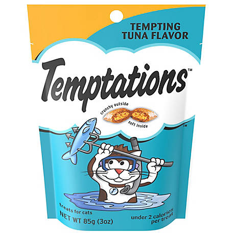 Temptations Tempting Tuna Flavor, 3 oz.