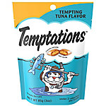 Whiskas Temptations Tempting Tuna Flavor, 3 oz.