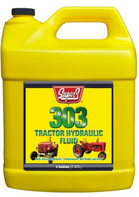 Buy Super S SuperTrac 303 Tractor Hydraulic Fluid; 2 gal. Online