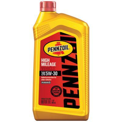 Buy Pennzoil 5W-30 High-Mileage Motor Oil Online