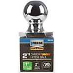 Reese Towpower InterLock Carbon Forged Hitch Ball, 2 in., 7,500 lb. Capacity, Chrome