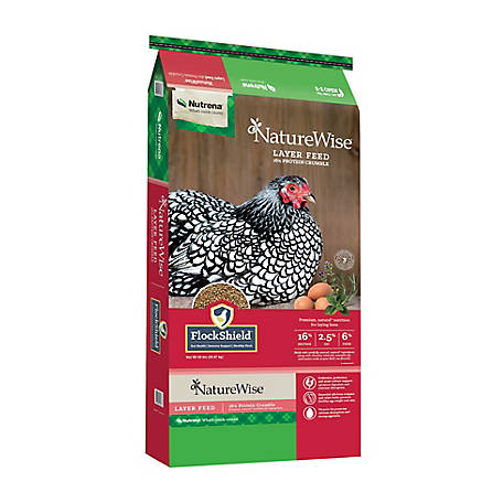 Nutrena NatureWise Layer 16% Crumbles, 50 lb., 91590