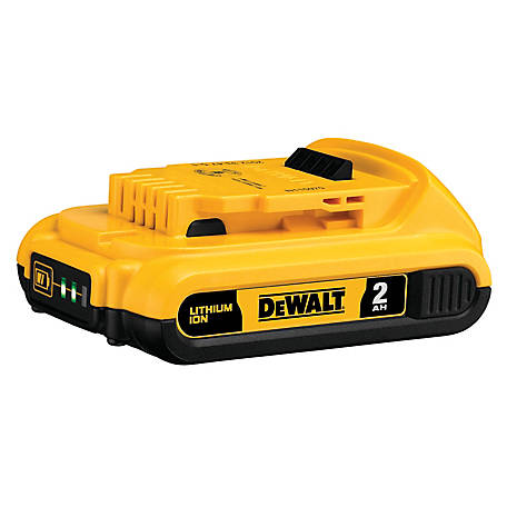 DeWALT 20V MAX Compact XR Lithium Ion Battery Pack