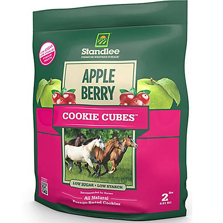Standlee Apple/Berry Cookie Cubes 2 lb., 10 in. W x 12.5 in. L x 4 in. D