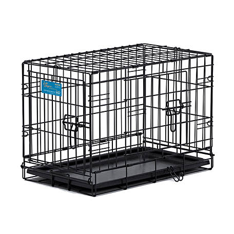 Midwest Homes For Pets Lifestages Double Door Dog Crate At Tractor