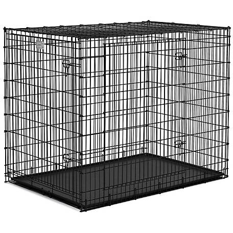 Midwest Homes For Pets Solutions 54 In Double Door Dog Crate