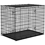 MidWest Homes for Pets Solutions 54 in. Double Door Dog Crate, Extra-Extra Large Breed