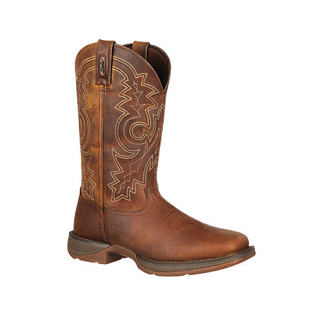 2207a7395ed Durango Men's Rebel 11 in. Pull-On Square Toe Boot at Tractor Supply Co.