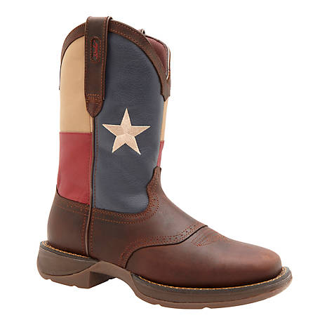 d9b759240b6 Durango Men's Rebel 11 in. Pull-On Texas Flag Boot at Tractor Supply Co.