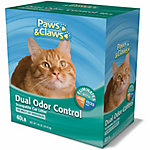 Paws & Claws Dual Odor Control Scoopable Cat Litter for Multi-Cat Households, 40 lb.
