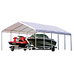 ShelterLogic Super Max Premium Canopy, White, 12 ft. x 30 ft.