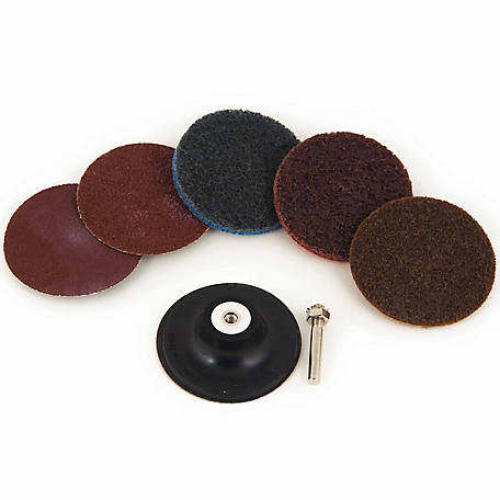 Mibro 3 in. Diameter Twistlock Abrasive Set